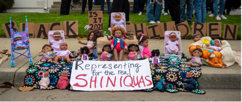 Representing for the Shiniqua's